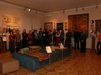 The opening ceremony of the exhibition